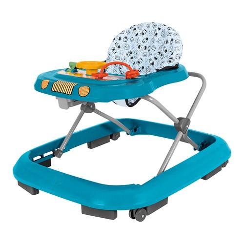 Andador Infantil Tutti Baby Toy Com brinquedos - Azul