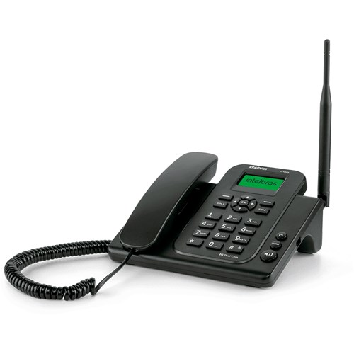 Aparelho de Telefone Rural Intelbras - CF4202N dual chip