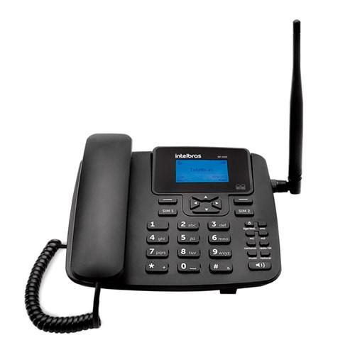 Aparelho de Telefone Rural Intelbras - CFA4212 dual chip