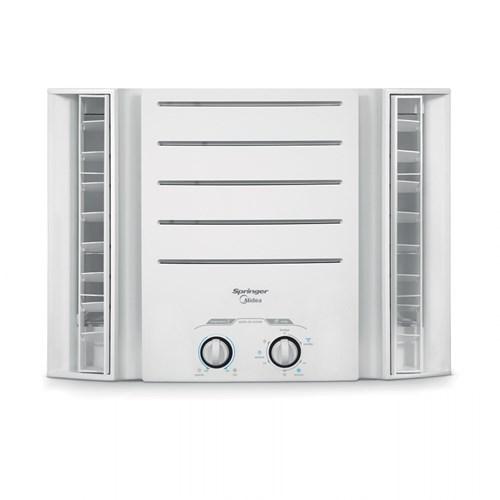 Ar condicionado Janela Springer Midea 10000 BTUs - QCI105BB Frio 220v