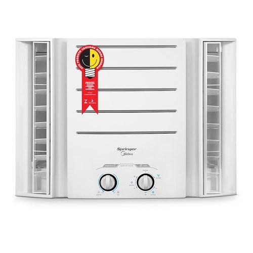 Ar condicionado Janela Springer Midea 7500 BTUs - QCI078BB Frio 110v