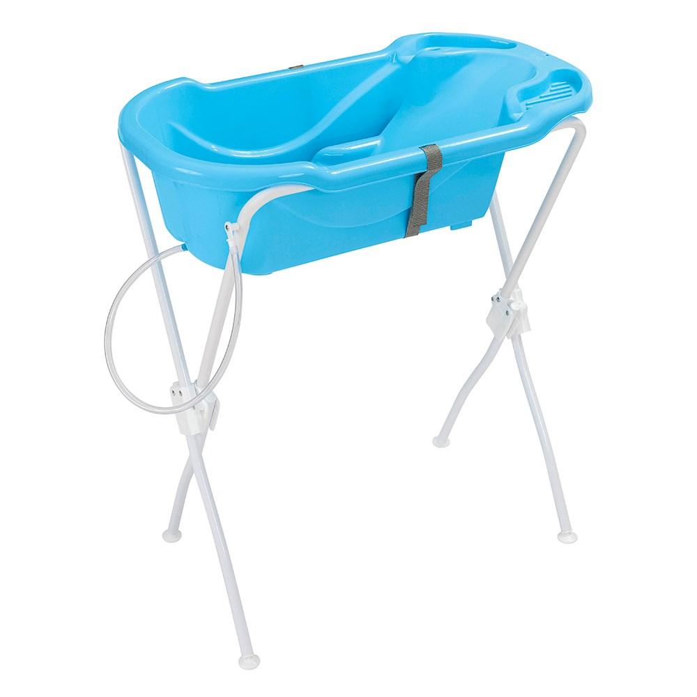 Banheira de Bebê Tutti Baby 6000 com Suporte - Azul