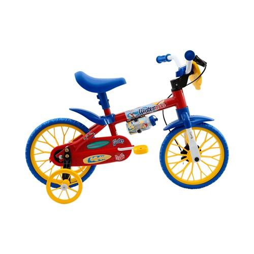 Bicicleta Aro 12 Cairu - Vermelho/Azul Fire Water Man 110585