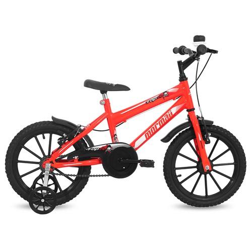 Bicicleta Aro 16 Top Lip Mormaii - Laranja Neon