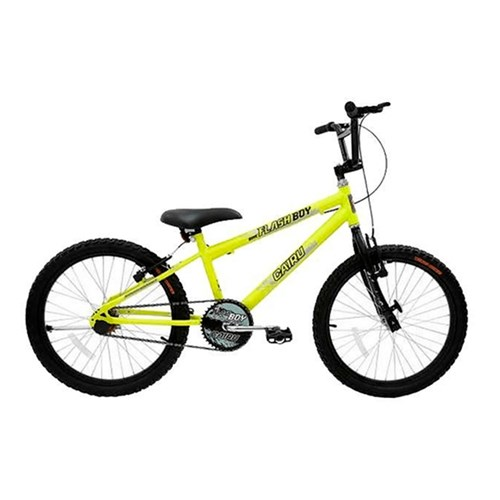 Bicicleta Aro 20 Cairu 317266 - Amarelo Neon