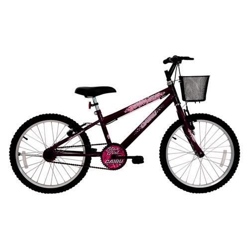 Bicicleta Aro 20 Cairu Star Girl - Violeta 319701