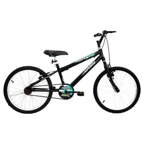 Bicicleta Aro 20 Cairu Super Boy - Preto 319698