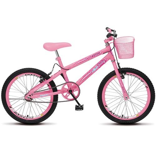 Bicicleta Aro 20 Colli July 107.19 - Rosa Neon