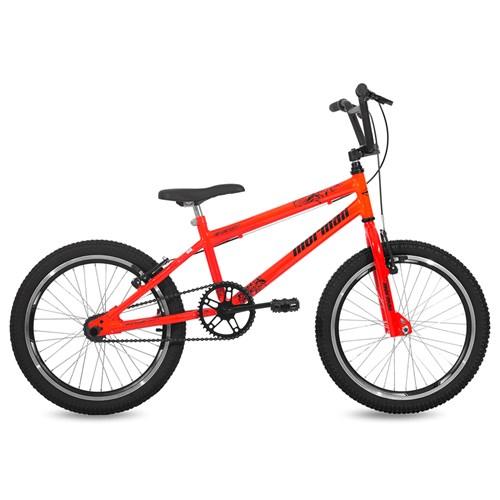 Bicicleta Aro 20 Cross Energy Mormaii - Laranja Neon