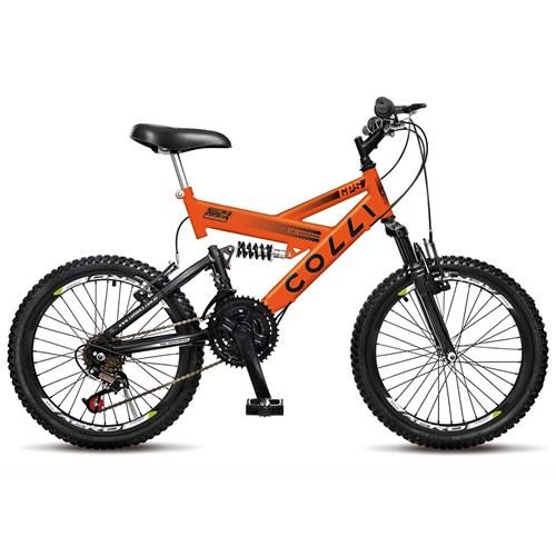 Bicicleta Aro 20 GPS 310 Colli  - Laranja Neon