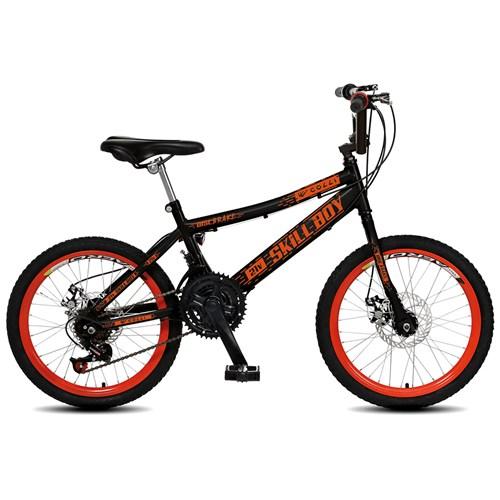Bicicleta Aro 20 Skill Boy 320 Colli - Preto Fosco