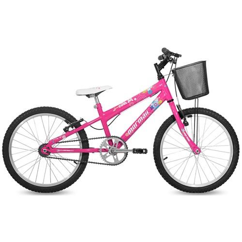 Bicicleta Aro 20 Sweet Girl Mormaii - Rosa