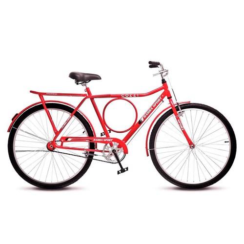 Bicicleta Aro 26 Colli Sport 212.16 - Vermelho sem Marcha
