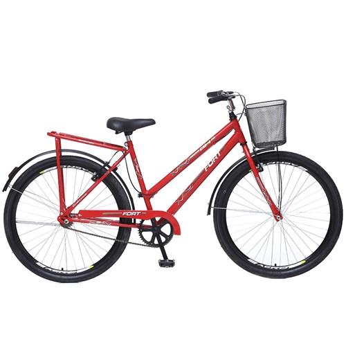 Bicicleta Aro 26 Fort 195 Colli - Vermelha