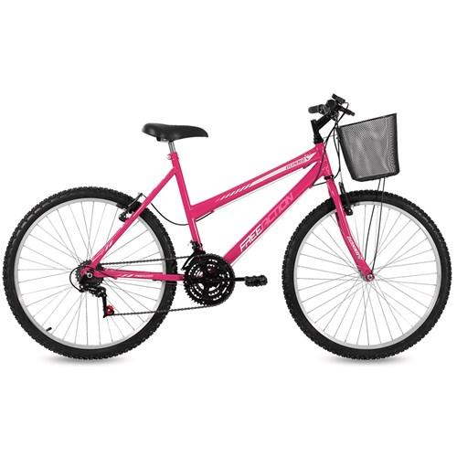 Bicicleta Aro 26 Free Action Donna Mormaii - Rosa