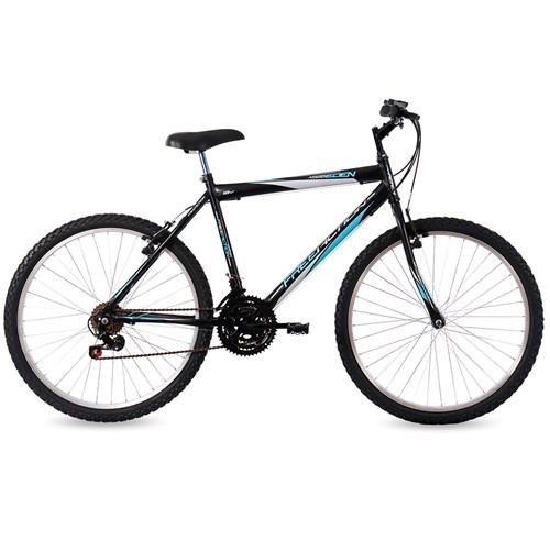 Bicicleta Aro 26 Free Action Eden Mormaii - Preto Fosco