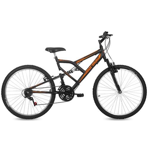 Bicicleta Aro 26 Fullsion Mormaii - Preto Fosco