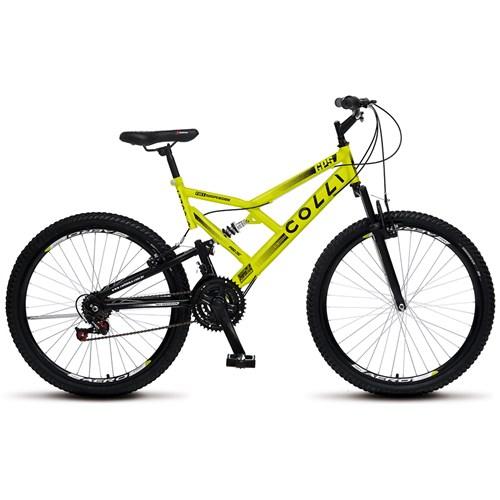 Bicicleta Aro 26 GPS 148 Colli  - Amarelo Neon