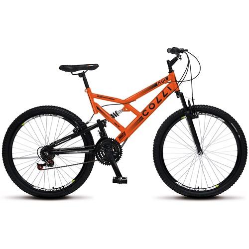 Bicicleta Aro 26 GPS 148 Colli  - Laranja Neon