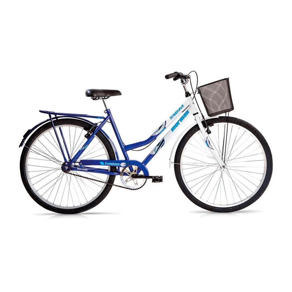 Bicicleta Aro 26 Soberana Mormaii - Azul/Branca