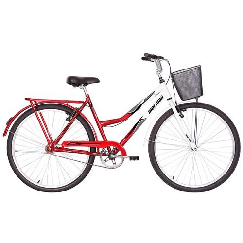 Bicicleta Aro 26 Soberana Mormaii - Vermelha/Branco