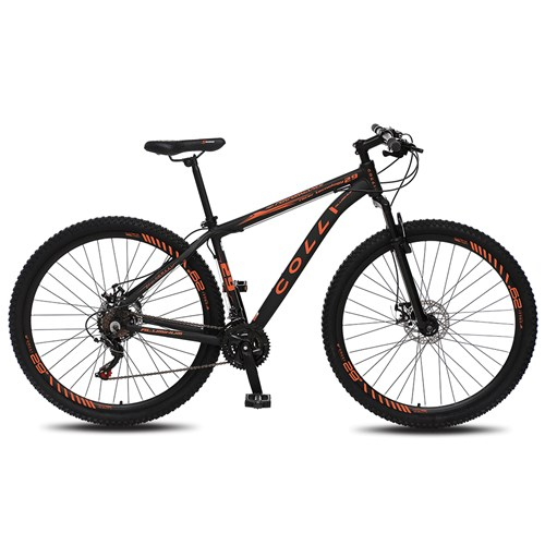 Bicicleta Aro 29 Colli 531 - Preto Fosco