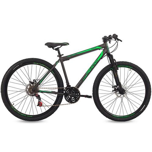 Bicicleta Aro 29 Free Action Flexus Mormaii - Grafite / Verde