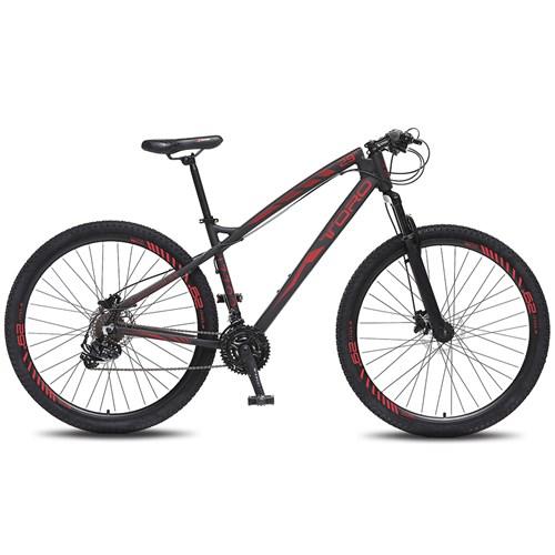 Bicicleta Aro 29 Toro 741 Colli - Preto / Vermelho