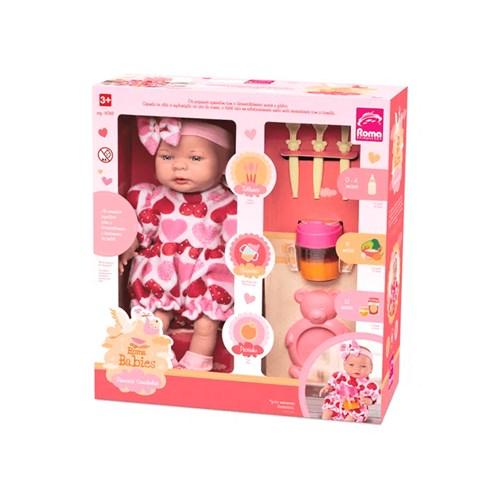 Boneca Babies Comidinhas - Roma 5068