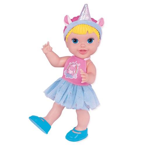 Boneca Babys Collection Unicórnio - Super Toys 406