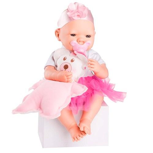 Boneca Roma Bebezinho Real Pink  - 5680 com Acessórios
