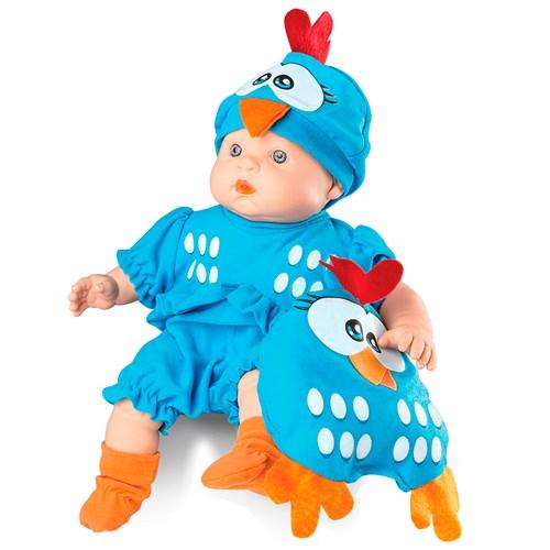Boneca Roma Meu Bebe - Mini Galinha Pintadinha 5604