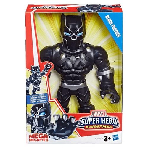 Boneco Articulado Pantera Negra Mega Might E4132 - Hasbro
