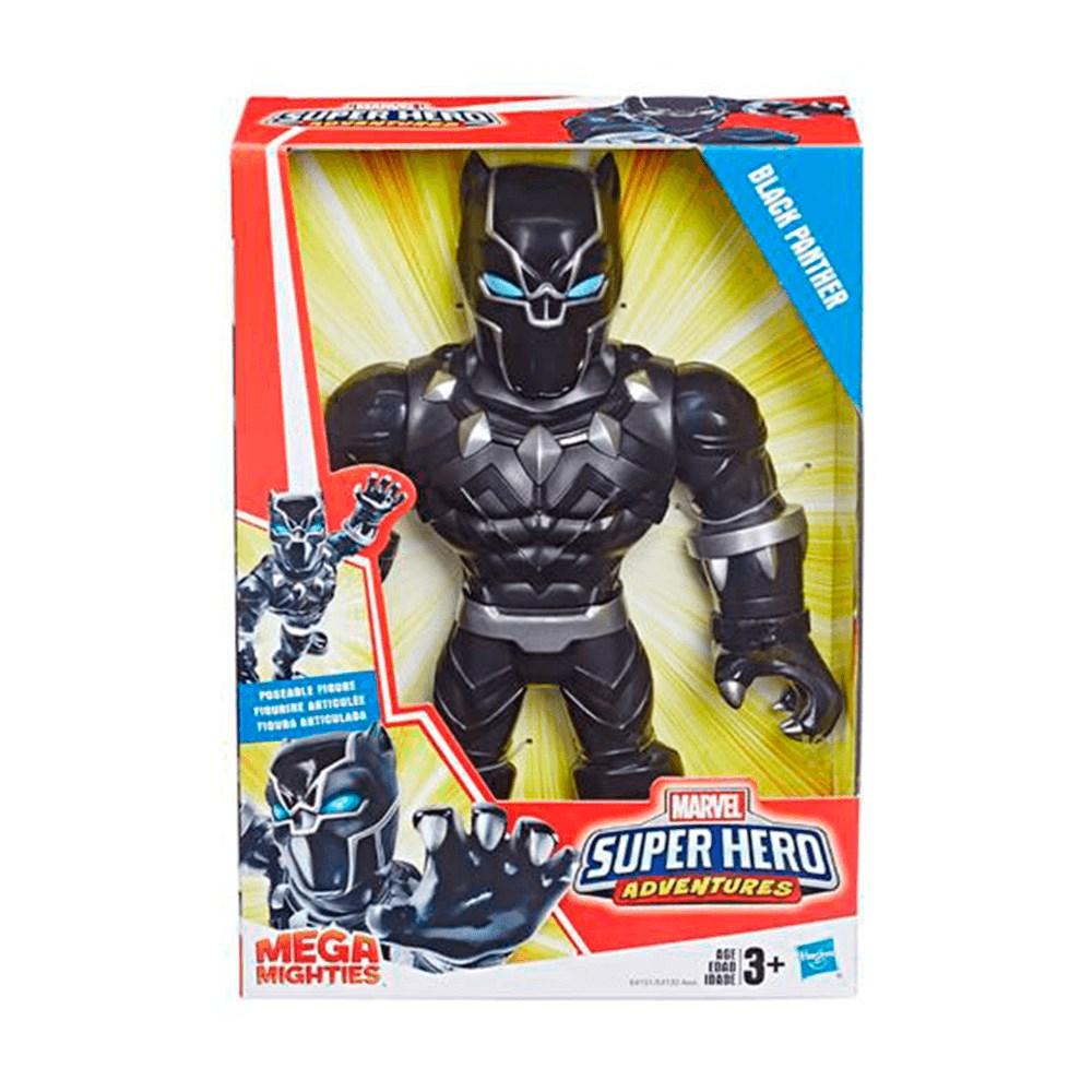 Boneco Mega Mighties Pantera Negra - E4151/6974
