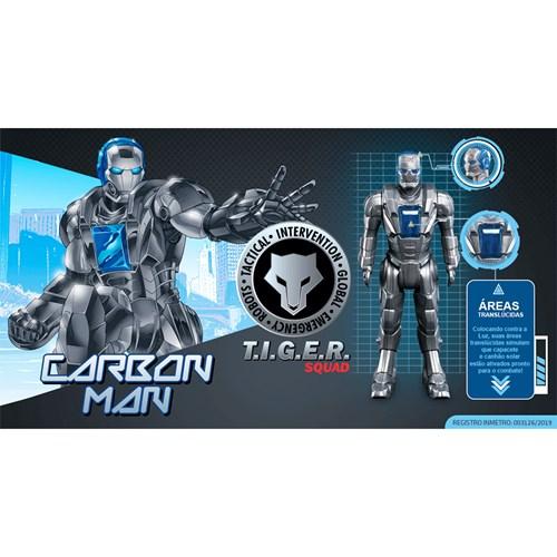 Boneco Tiger Carbonman - Roma 0890