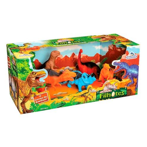 Brinquedo Adijomar Dinossauros Filhotes - 837
