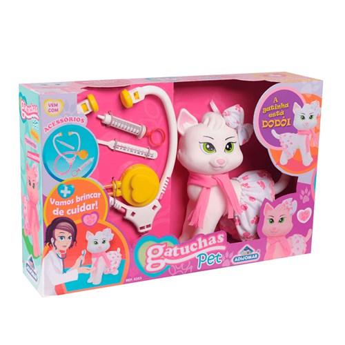 Brinquedo Adijomar Gatuchas Pet com Acessorios - 0353