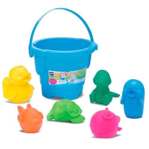 Brinquedo Balde Roma Coleção Bichinho - 0271