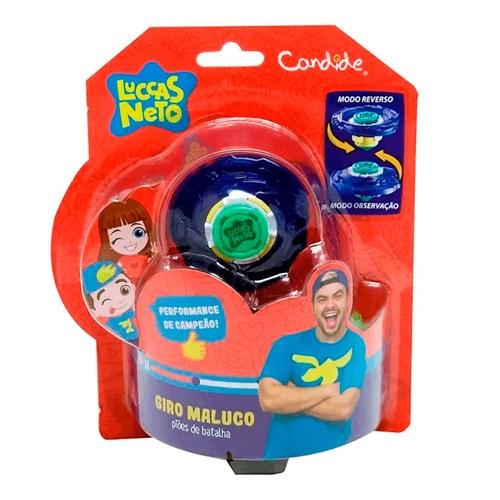 Brinquedo Candide Pião Maluco Luccas Neto - 3706