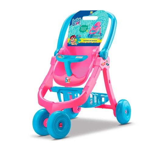 Brinquedo Divertoys - Carrinho de Bonecas Baby Alive 8141