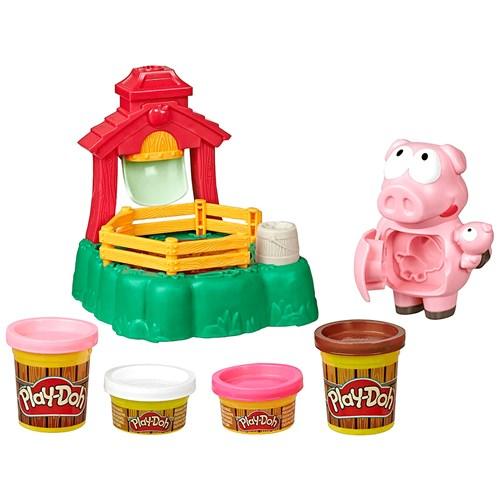 Brinquedo Hasbro Play-Doh E6723/6627 - Porquinhos Brincalhões