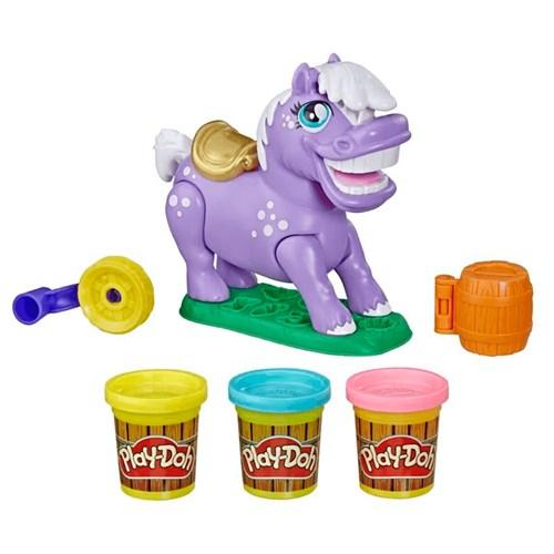 Brinquedo Hasbro Play-Doh E6726/6622 - Farm Ponei de Rodeio