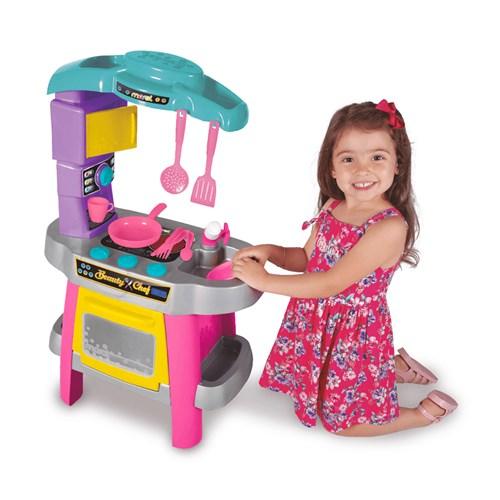 Brinquedo Maral Cozinha Beauty Chef - Rosa 1190