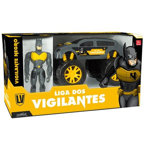 Brinquedo Mielle Super Vigilante Negro - B242