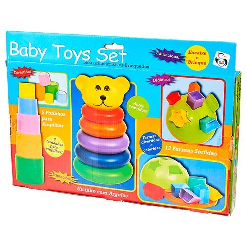 Brinquedo Pica Pau Baby Toys Set - 580