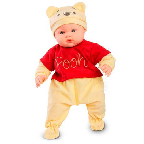 Brinquedo Roma Boneco Ursinho Pooh - 5413