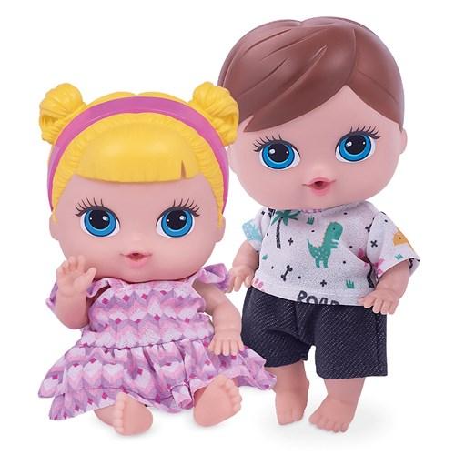 Brinquedo Super Toys Babys Collection Mini Gemeos - 380/216