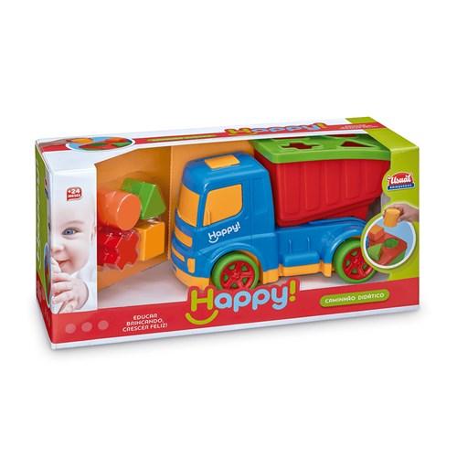 Brinquedo Usual Caminhão Didático Happy - 496