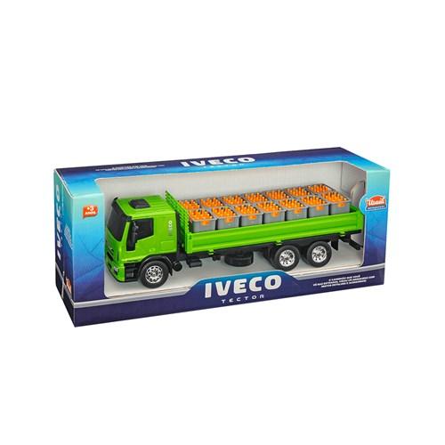 Brinquedo Usual Caminhão Iveco Tector Dropside - 341