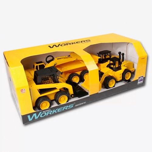 Brinquedo Workes Series 4x1 - Roma 0345